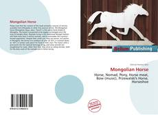 Bookcover of Mongolian Horse