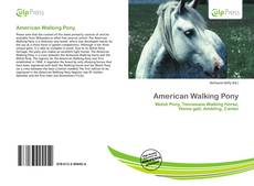 Copertina di American Walking Pony