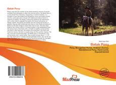 Capa do livro de Batak Pony