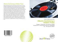 Buchcover von Albums Containing a Hidden Track