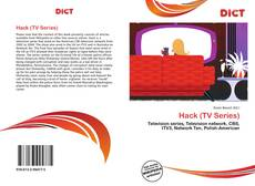 Bookcover of Hack (TV Series)