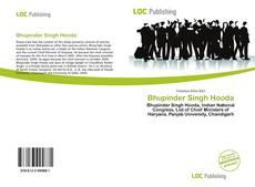 Capa do livro de Bhupinder Singh Hooda
