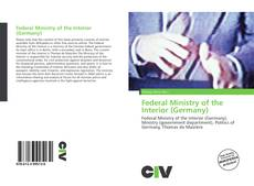 Bookcover of Federal Ministry of the Interior (Germany)