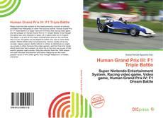 Human Grand Prix III: F1 Triple Battle kitap kapağı