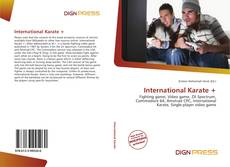Couverture de International Karate +