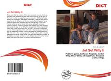 Bookcover of Jet Set Willy II