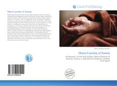 Capa do livro de Maria Carolina of Austria