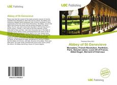 Capa do livro de Abbey of St Genevieve