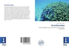 Bookcover of Acanthuridae