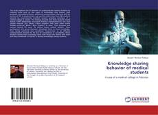 Capa do livro de Knowledge sharing behavior of medical students