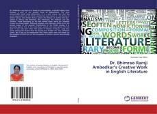 Couverture de Dr. Bhimrao Ramji Ambedkar's Creative Work in English Literature