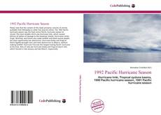 1992 Pacific Hurricane Season的封面
