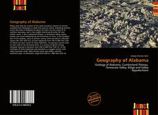 Bookcover of Geography of Alabama