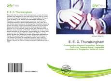 Bookcover of E. E. C. Thuraisingham
