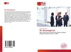 Bookcover of M. Kulasegaran