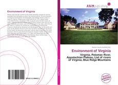 Bookcover of Environment of Virginia