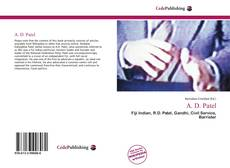 A. D. Patel的封面