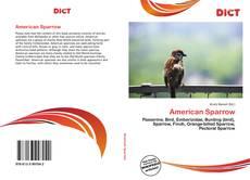 Copertina di American Sparrow