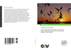 Bookcover of African Birds