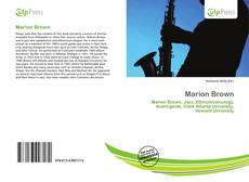 Bookcover of Marion Brown