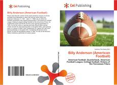 Bookcover of Billy Anderson (American Football)