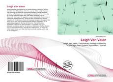 Leigh Van Valen kitap kapağı