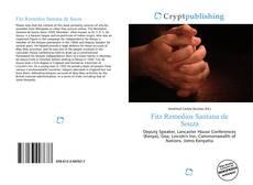 Portada del libro de Fitz Remedios Santana de Souza