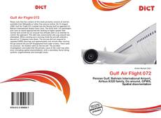 Capa do livro de Gulf Air Flight 072
