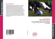 Bookcover of Chris Burford