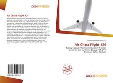 Buchcover von Air China Flight 129