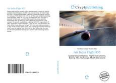 Bookcover of Air India Flight 855