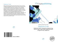Bookcover of Duplicate Code