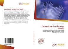 Bookcover of Committee for the Free World