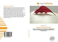 Portada del libro de Copper Canyon Press