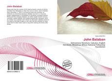Bookcover of John Balaban