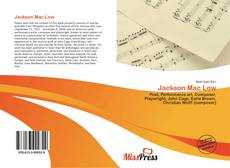 Buchcover von Jackson Mac Low
