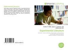 Couverture de Experimental Literature