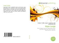 Capa do livro de Hope Lange