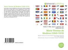 Bookcover of Marie Thérèse de Modène (1849-1919)