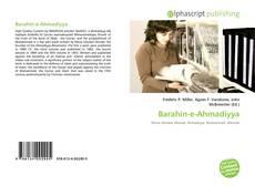 Buchcover von Barahin-e-Ahmadiyya