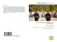 Capa do livro de Honneur