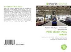 Porte Maillot (Paris Métro)的封面