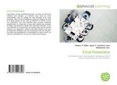 Crise Financière kitap kapağı