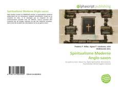 Buchcover von Spiritualisme Moderne Anglo-saxon