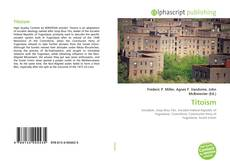 Bookcover of Titoism