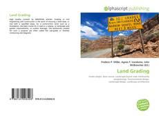 Borítókép a  Land Grading - hoz