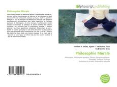 Bookcover of Philosophie Morale