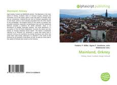 Bookcover of Mainland, Orkney