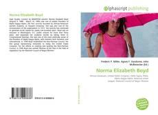 Buchcover von Norma Elizabeth Boyd