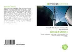 Portada del libro de Edmond Malone
